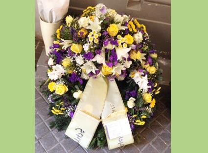 Helenas Blumen am Markt Kranz 1